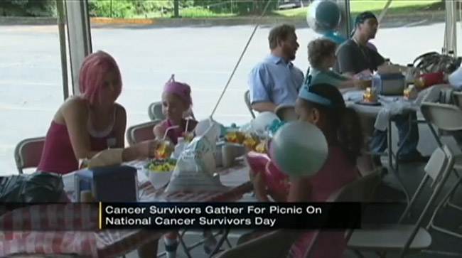 Hundreds gather at Monongahela Valley Hospital for National Cancer Survivors Day photo